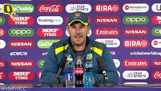 Australia v England Semi Will be 'Great': Finch | The Quint