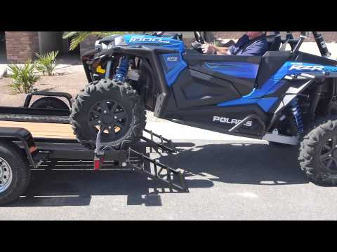 RZR Polaris Trailer EZ Trails Single Axle Lake Havasu Arizona United States