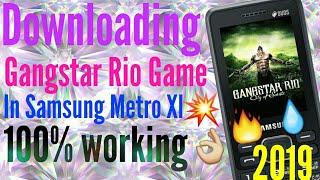 Downloading gangsta rio game in Java phone 2019