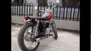 Kumpulan Foto Modifikasi Motor Honda CB 100 Jap Style