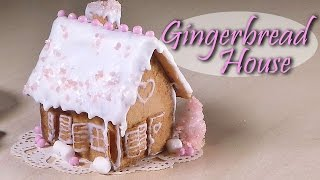 Easy Miniature Gingerbread House - Polymer Clay Tutorial
