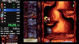 Donkey Kong Country 3 any% 48:02