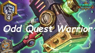 Hearthstone: Odd Quest Warrior #4: Rastakhan's Rumble - Standard Constructed Post-Nerf