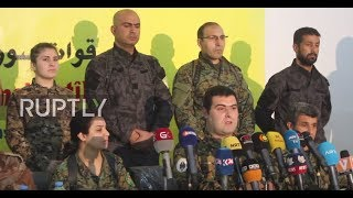 Syria: SDF pleads US-led coalition to 'meet its obligations'