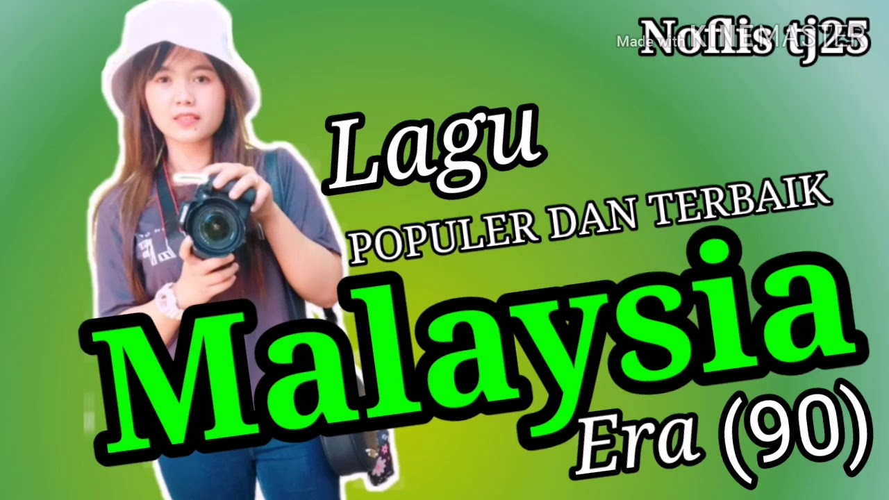 lagu populer terbaik malaysia era youtube