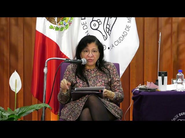 Discurso final de la Presidenta de la CDHCM, Nashieli Ramírez, en LII Congreso Nacional FMOPDH