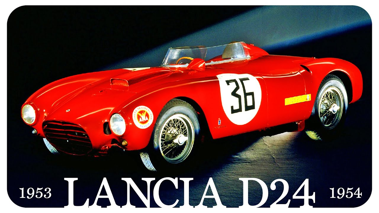The Story Of The Lancia D24