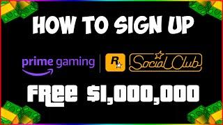 GTA V Prime Gaming Sign Up