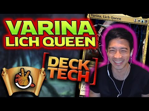 Varina, Lich Queen – C18 Deck Tech L The Command Zone #228 L Magic: The Gathering EDH