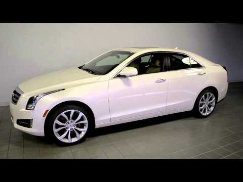 2014 Cadillac Ats Awd Performance White Diamond 2232
