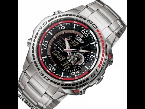casio efa 121d 1a youtube rh youtube com Casio Watches Edifice Series Casio Edifice Watch Review