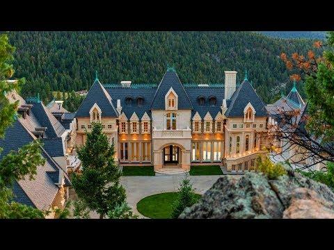 Limestone Masterpiece In Evergreen, Colorado, USA