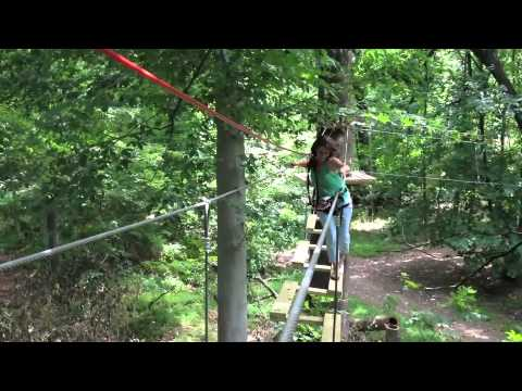 EXPLORE TreeTop Adventure Park at Elmwood Park Zoo with Philadelphia Family