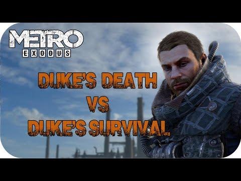 Duke's Death And Duke's Survival In Metro Exodus