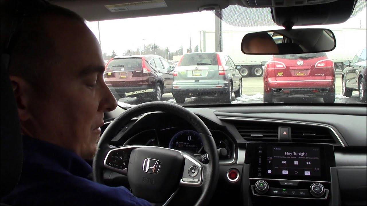 2016 Honda Civic Ex Sensing