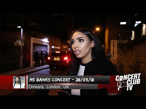 She's The UK's Best Female Rapper | Fans Reaction to Ms Banks Concert - March 2018