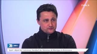 Sport : départ de l'entraineur de Handball des féminines de Montigny-le-Bretonneux
