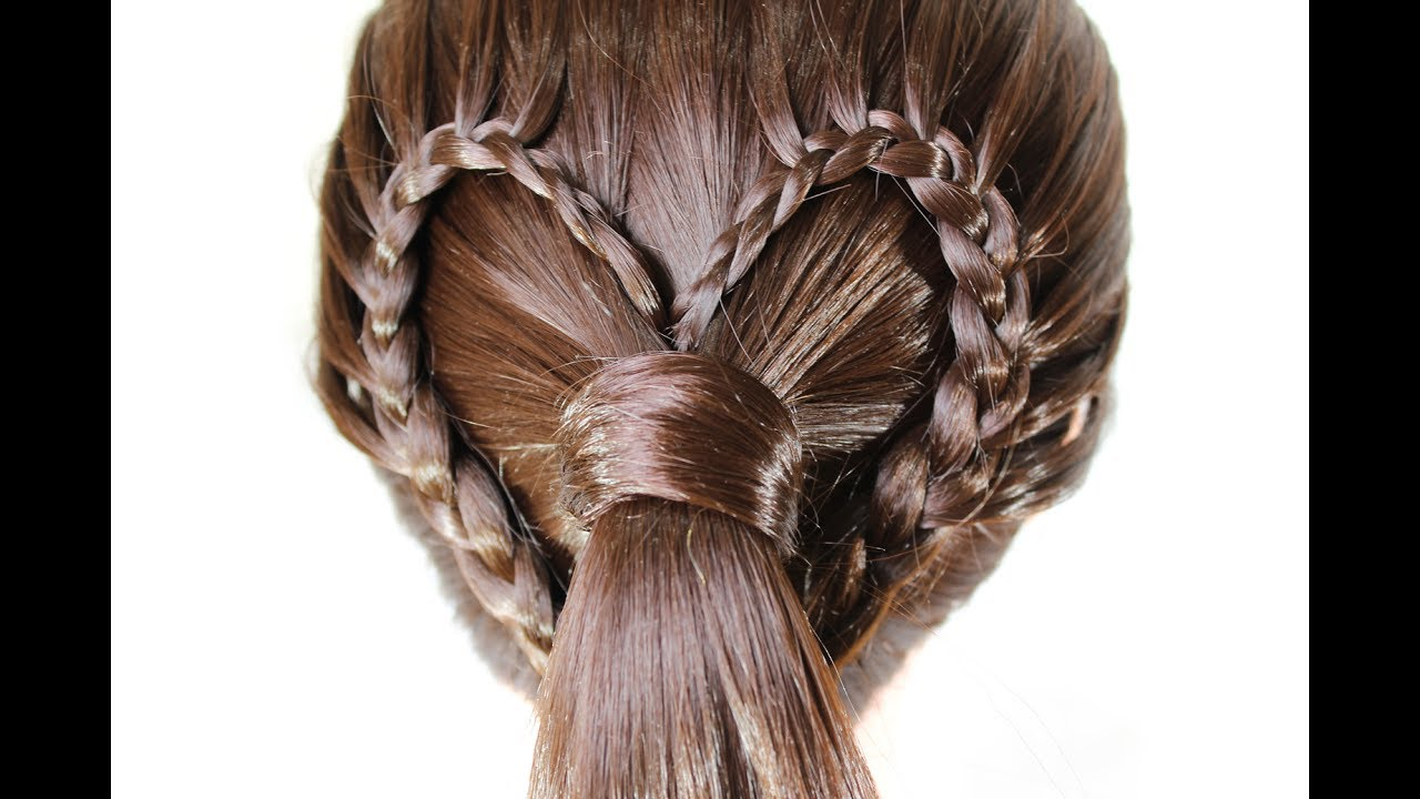 interesting hairstyle ★ simple and very beautiful hairstyle for every day