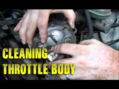 Cleaning Throttle Body & Adjusting TPS - Renix Jeep Cherokee