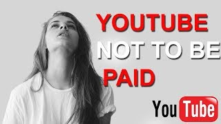 YOUTUBE PAYMENT NOT ADD IN ADSENSE AB YOUTUBE SE PAYMENT NAHI MILEGI  TIPS & TRICKS