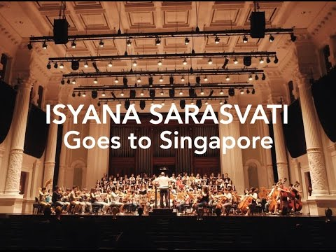 Cover Lagu Isyana Sarasvati Goes To Singapore Teaser