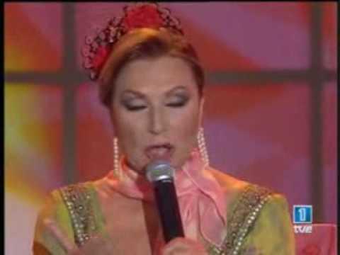 Rocio Jurado cantando flamenco espectacular