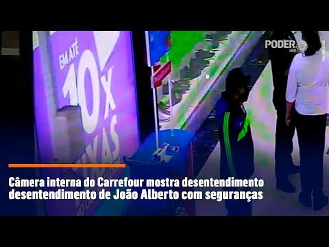 Câmera interna do Carrefour mostra desentendimento de João Alberto com seguranças