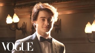 Behind the Scenes with Daniel Radcliffe - Vogue Diaries