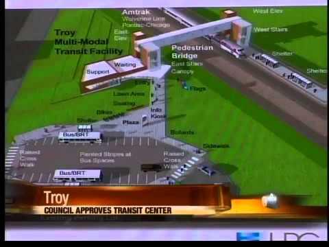 Troy approves new transit center