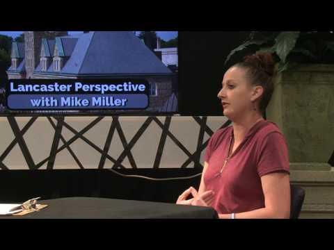 Melanie Yoder explains Haugland Learning Center - 07-08-17