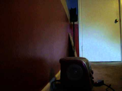 Plugging a guitar into a karaoke machine