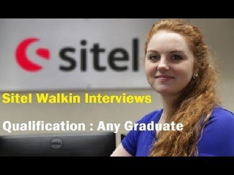 Sitel Walkin Interviews   Freshers   International Voice/ Non Voice