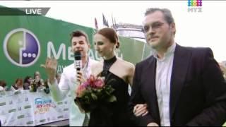 Светлана Захарова на красной дорожке