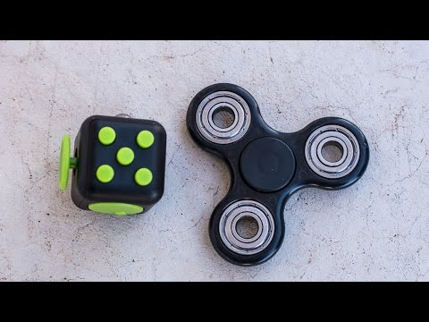 best-fidget-toys:-fidget-cube-and-fidget-spinner-unboxing-and-review
