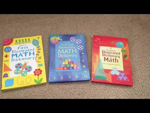 Usborne's Illustrated Math Dictionaries