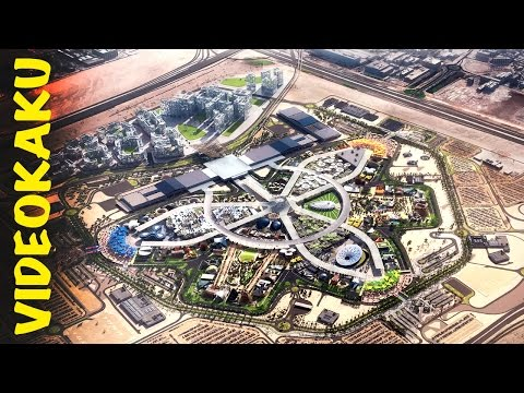 Dubai Expo 2020 - Work In Progress - Unseen View Of Expo 2020 Site