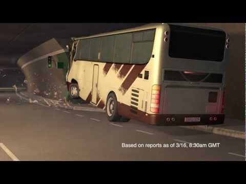 Swiss bus accident (update): a new reconstruction