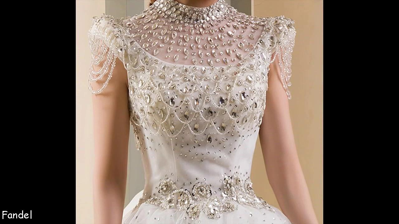 Wedding Dresses Diamonds - YouTube