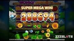 Wonky Wabbits * SUPER MEGA BIG WIN * - Play For FREE - ZZZSLOTS