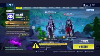 New skins give away function is there! Fortnite Live! Abo zocken