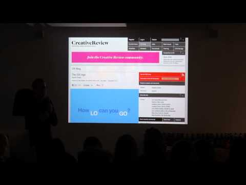 Industry Friday 10 - Patrick Burgoyne: Creative Review Talk