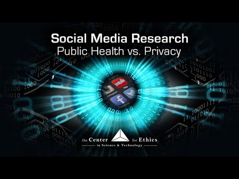 Social Media Research: Public Health vs. Privacy - Exploring Ethics