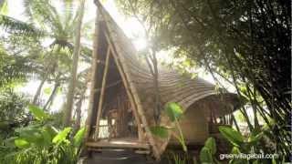 Bamboo Architecture of Green Village, Bali