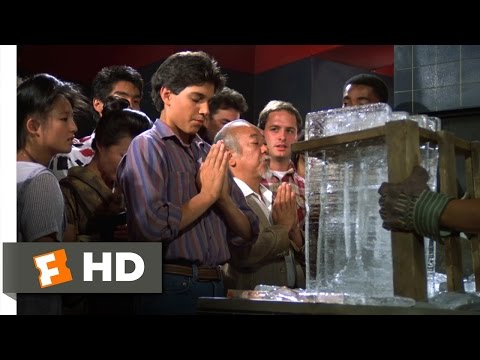 The Karate Kid Part II - Breaking the Ice Scene (4/10) | Movieclips