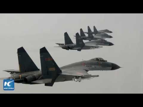 Chinese Air Force promo video goes viral