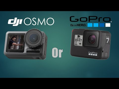 DJI OSMO Or GoPro Hero 7 | Hindi | Shenzhen | China