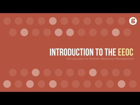 Introduction to the EEOC