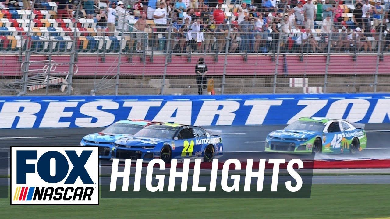 Byron, Wallace, Larson advance to All-Star after thrilling Open | NASCAR on FOX HIGHLIGHTS