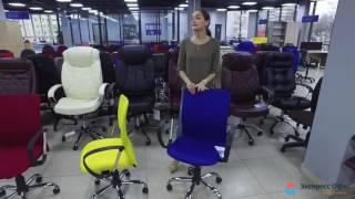 Обзор компьютерного кресла LEO B chrome(, 2016-11-22T14:27:22.000Z)