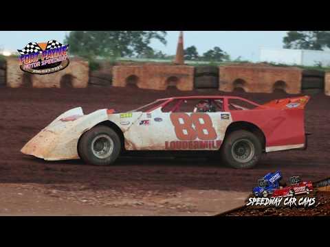 #88 Lamar Loudermilk - A-Hobby - 8-11-18 Fort Payne Motor Speedway - In Car Camera